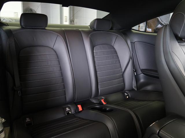 C180クーペ スポーツ 走行約11500km ガラスルーフ ブラックレザーシート シートヒーター ヘッドアップディスプレイ 新車保証 パフュームアトマイザー(9枚目)