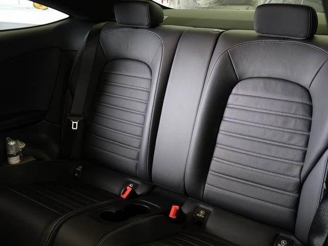 C180クーペ スポーツ 走行約11500km ガラスルーフ ブラックレザーシート シートヒーター ヘッドアップディスプレイ 新車保証 パフュームアトマイザー(15枚目)