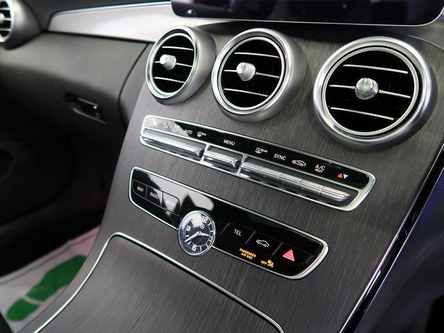 C180クーペ スポーツ 走行約11500km ガラスルーフ ブラックレザーシート シートヒーター ヘッドアップディスプレイ 新車保証 パフュームアトマイザー(22枚目)