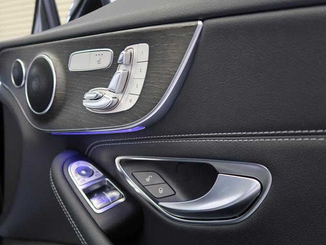 C180クーペ スポーツ 走行約11500km ガラスルーフ ブラックレザーシート シートヒーター ヘッドアップディスプレイ 新車保証 パフュームアトマイザー(41枚目)