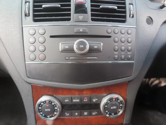 C200コンプレッサー エレガンスデビューP 限定車 下取車 社外革シート セミPシート 純正HDDナビ コマンドシステム DVD再生 CD MSV ETC 純正17インチアルミ バイキセノンライト LEDテール 2008yモデル(11枚目)
