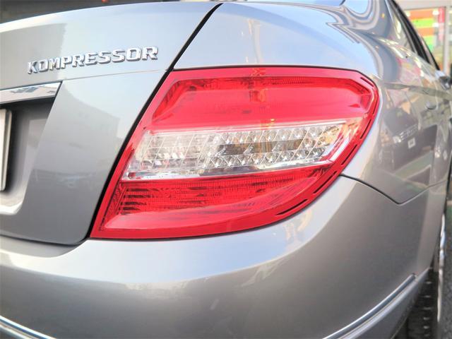 C200コンプレッサー エレガンスデビューP 限定車 下取車 社外革シート セミPシート 純正HDDナビ コマンドシステム DVD再生 CD MSV ETC 純正17インチアルミ バイキセノンライト LEDテール 2008yモデル(15枚目)
