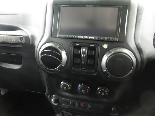 クライスラー・ジープ クライスラージープ ラングラーアンリミテッド ディーラー車 社外ナビ サイド・バックカメラ