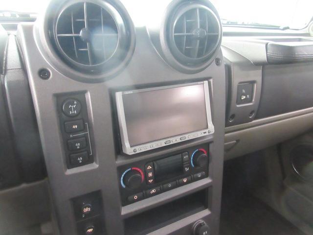 ハマー ハマー H2 三井物産D車 26インチAW リアバネサス交換済