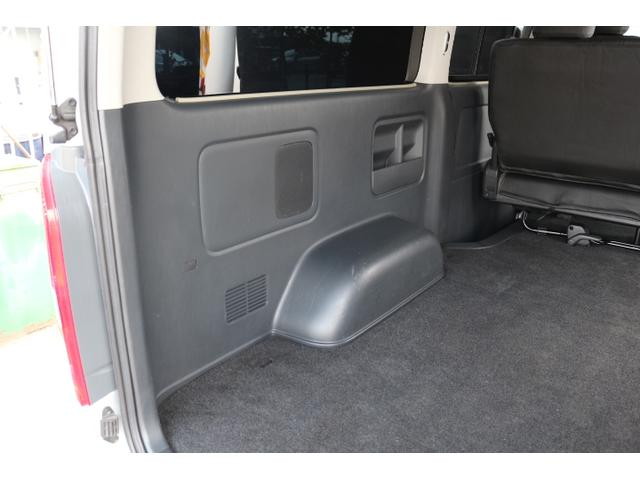 ロングスーパーGL 2000ガソリン 2WD 5ナンバーワゴン乗用登録 5/7/8人乗り製作 フルフラット(34枚目)