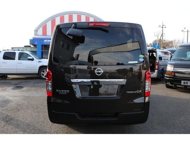 日産 NV350キャラバンバン プレミアムGX エマージェンシー 3列シート 5ナンバー乗用
