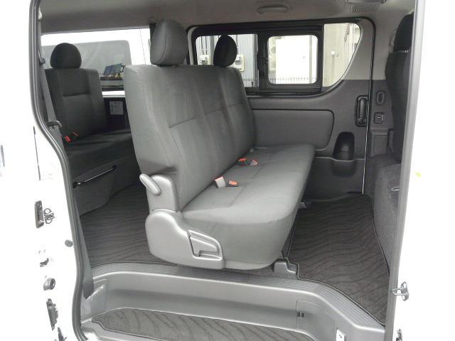 ロングスーパーGL 2000ガソリン 2WD 3列シート 7/8人乗り製作 5ナンバーワゴン乗用登録 フルフラット(24枚目)