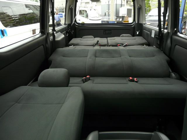ロングスーパーGL 2000ガソリン 2WD 3列シート 7/8人乗り製作 5ナンバーワゴン乗用登録 フルフラット(25枚目)