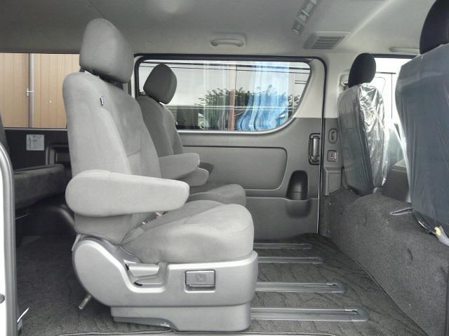 ロングスーパーGL 2000ガソリン 2WD 3列シート 7/8人乗り製作 5ナンバーワゴン乗用登録 フルフラット(26枚目)