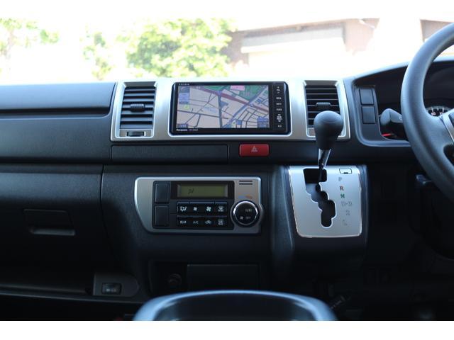 かんたん操作のオートエアコン!4型からのスイッチデザイン!運転視界も広く、運転しやすいのがハイエースです!