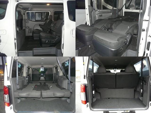 7人乗り298万円!ステルスオリジナル自慢のキャプテンシートにベンチシート!余裕の足元空間の3列シートがあっても奥行約60cmの荷室を常時確保。詳しくはwww.stealth-jp.com