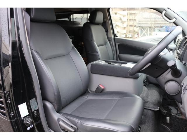ロングプレミアムGXクロムギアパックバージョンブラック 2000ガソリン 2WD オグショー社制作ベッドキット ベバストFFヒーター サブバッテリー ソーラー充電 冷蔵庫 車中泊(13枚目)