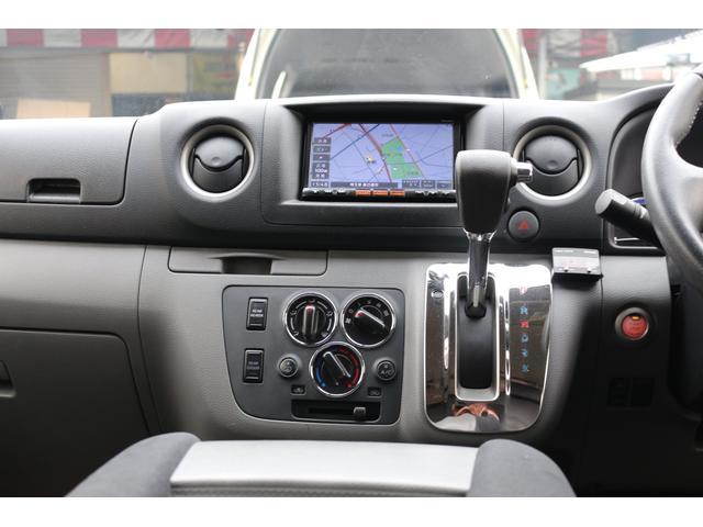 ロングプレミアムGXクロムギアパックバージョンブラック 2000ガソリン 2WD オグショー社制作ベッドキット ベバストFFヒーター サブバッテリー ソーラー充電 冷蔵庫 車中泊(15枚目)
