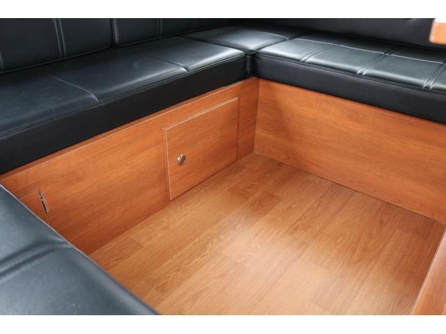 ロングプレミアムGXクロムギアパックバージョンブラック 2000ガソリン 2WD オグショー社制作ベッドキット ベバストFFヒーター サブバッテリー ソーラー充電 冷蔵庫 車中泊(30枚目)