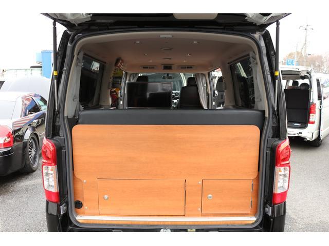 ロングプレミアムGXクロムギアパックバージョンブラック 2000ガソリン 2WD オグショー社制作ベッドキット ベバストFFヒーター サブバッテリー ソーラー充電 冷蔵庫 車中泊(36枚目)