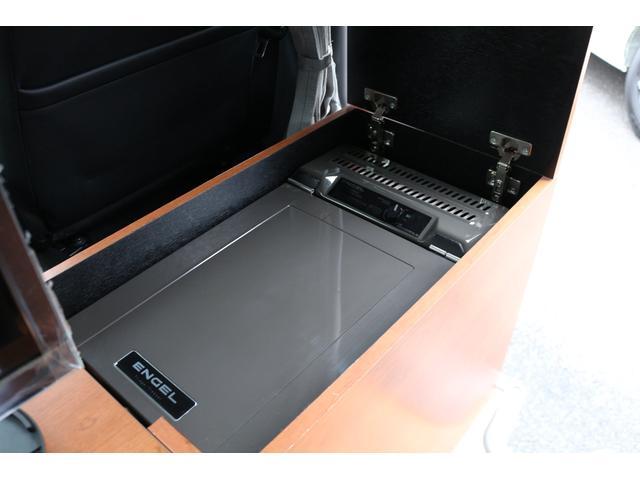 ロングプレミアムGXクロムギアパックバージョンブラック 2000ガソリン 2WD オグショー社制作ベッドキット ベバストFFヒーター サブバッテリー ソーラー充電 冷蔵庫 車中泊(37枚目)