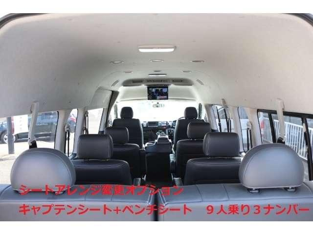 2.8DT 10人乗 3ナンバー乗用登録 普通免許 事業用可(20枚目)