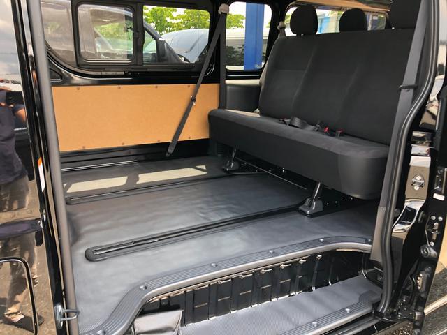 ロングスライドレール S-GL用ベンチ2脚 8人乗り 4WD(4枚目)