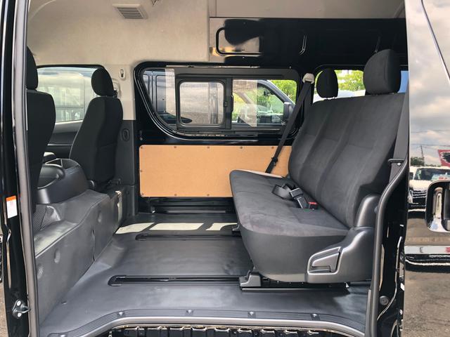 ロングスライドレール S-GL用ベンチ2脚 8人乗り 4WD(7枚目)