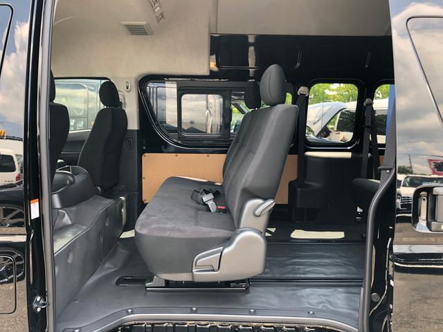 ロングスライドレール S-GL用ベンチ2脚 8人乗り 4WD(9枚目)