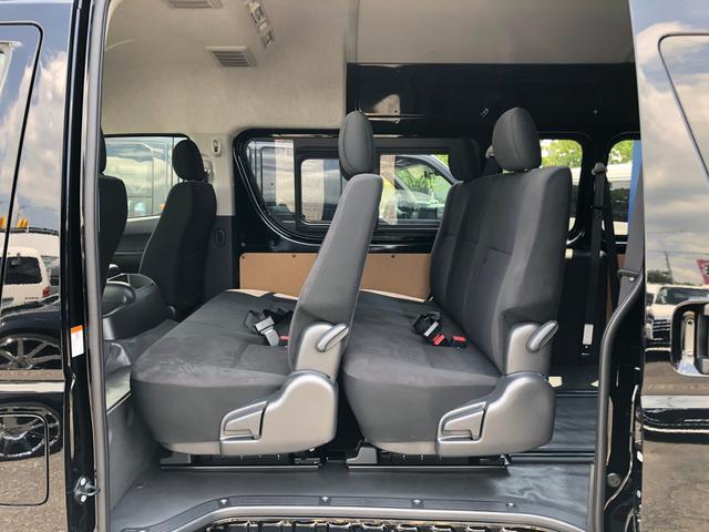 ロングスライドレール S-GL用ベンチ2脚 8人乗り 4WD(11枚目)