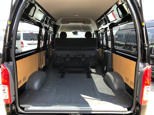 ロングスライドレール S-GL用ベンチ2脚 8人乗り 4WD(17枚目)
