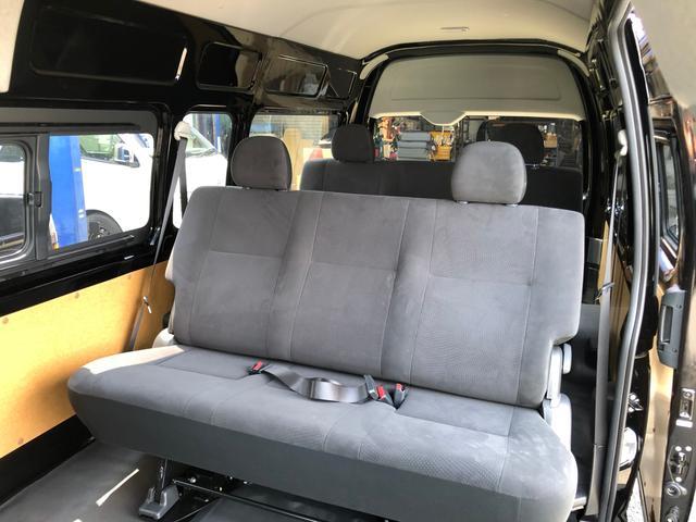 ロングスライドレール S-GL用ベンチ2脚 8人乗り 4WD(18枚目)