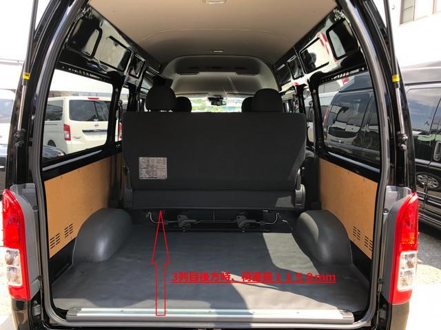 ロングスライドレール S-GL用ベンチ2脚 8人乗り 4WD(19枚目)