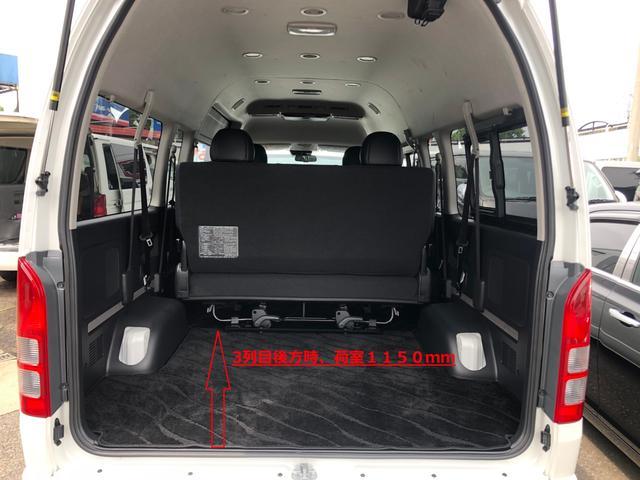 2800ディーゼル 2WD 8人乗り3ナンバー乗用登録(19枚目)