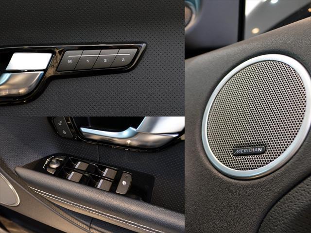 前席電動シート(運転席メモリー機能付き)メリディアンサラウンドサウンドシステム