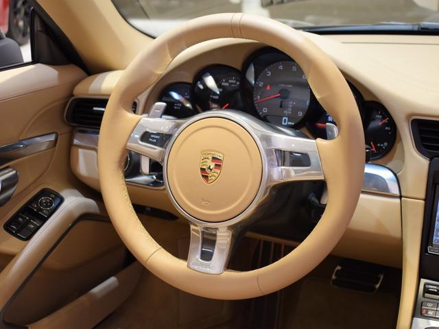 911カレラS カブリオレ EU新並 2014MY スポーツクロノ スポーツエグゾースト 20inクラシックホイール エントリーアンドドライブ シートヒーター ベンチレーション レザーインテリア スポーツシートプラス 電格ミラー(7枚目)