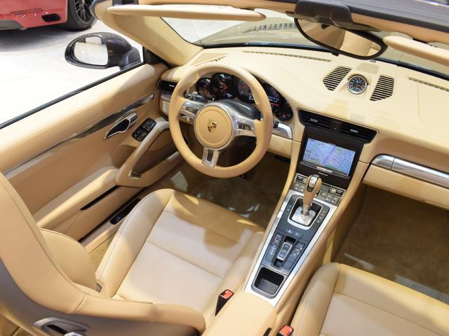 911カレラS カブリオレ EU新並 2014MY スポーツクロノ スポーツエグゾースト 20inクラシックホイール エントリーアンドドライブ シートヒーター ベンチレーション レザーインテリア スポーツシートプラス 電格ミラー(26枚目)