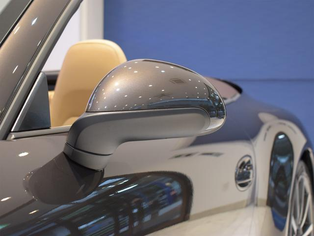 911カレラS カブリオレ EU新並 2014MY スポーツクロノ スポーツエグゾースト 20inクラシックホイール エントリーアンドドライブ シートヒーター ベンチレーション レザーインテリア スポーツシートプラス 電格ミラー(38枚目)