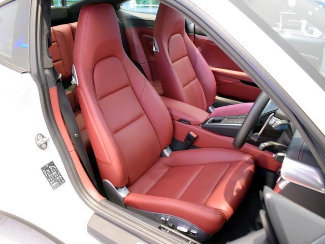 911ターボ 1オーナー車 黒赤2トーンレザー スポーツクロノPKG PASM LEDヘッドライト シートヒーター 電動格納ミラー BOSEオーディオ 14way電動シート GTスポーツステアリング Rカメラ(10枚目)