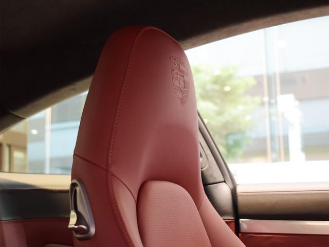 911ターボ 1オーナー車 黒赤2トーンレザー スポーツクロノPKG PASM LEDヘッドライト シートヒーター 電動格納ミラー BOSEオーディオ 14way電動シート GTスポーツステアリング Rカメラ(12枚目)