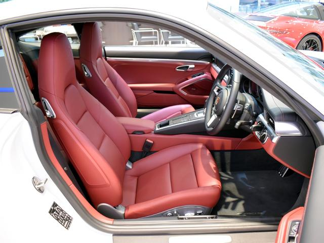 911ターボ 1オーナー車 黒赤2トーンレザー スポーツクロノPKG PASM LEDヘッドライト シートヒーター 電動格納ミラー BOSEオーディオ 14way電動シート GTスポーツステアリング Rカメラ(13枚目)