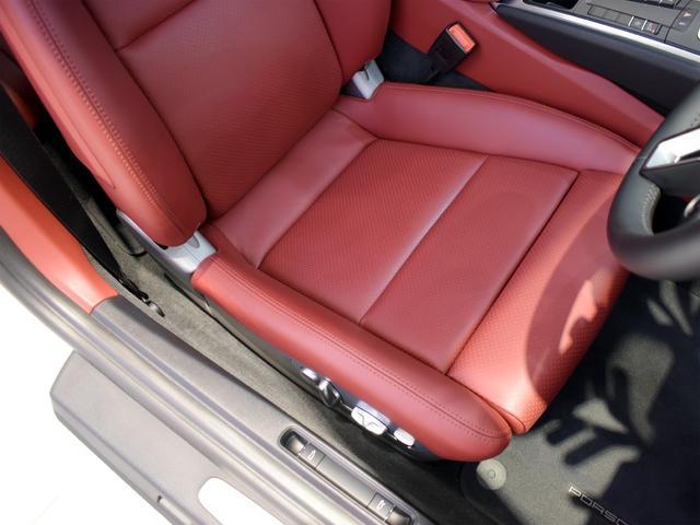 911ターボ 1オーナー車 黒赤2トーンレザー スポーツクロノPKG PASM LEDヘッドライト シートヒーター 電動格納ミラー BOSEオーディオ 14way電動シート GTスポーツステアリング Rカメラ(14枚目)