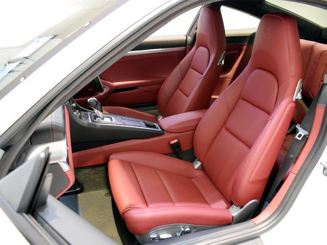 911ターボ 1オーナー車 黒赤2トーンレザー スポーツクロノPKG PASM LEDヘッドライト シートヒーター 電動格納ミラー BOSEオーディオ 14way電動シート GTスポーツステアリング Rカメラ(22枚目)