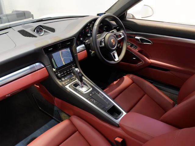 911ターボ 1オーナー車 黒赤2トーンレザー スポーツクロノPKG PASM LEDヘッドライト シートヒーター 電動格納ミラー BOSEオーディオ 14way電動シート GTスポーツステアリング Rカメラ(27枚目)
