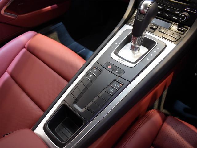 911ターボ 1オーナー車 黒赤2トーンレザー スポーツクロノPKG PASM LEDヘッドライト シートヒーター 電動格納ミラー BOSEオーディオ 14way電動シート GTスポーツステアリング Rカメラ(31枚目)