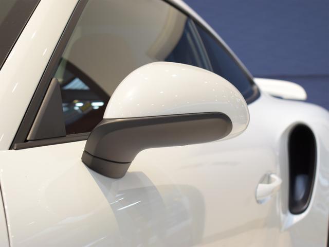 911ターボ 1オーナー車 黒赤2トーンレザー スポーツクロノPKG PASM LEDヘッドライト シートヒーター 電動格納ミラー BOSEオーディオ 14way電動シート GTスポーツステアリング Rカメラ(40枚目)