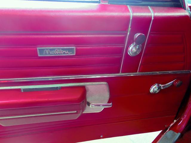 マリブクーペ 327 カリフォルニアタイトル1オーナー(18枚目)