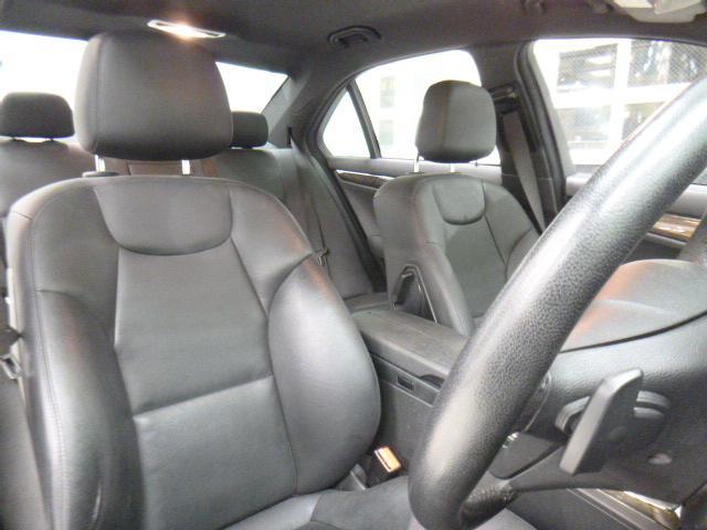 メルセデス・ベンツ M・ベンツ C200コンプレッサーAVG-S黒革シートヒーター純HDD