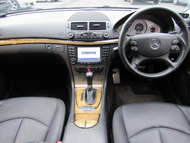 E350WAVG-S正規ディラ車後期型地デジガラスSR黒本革(6枚目)