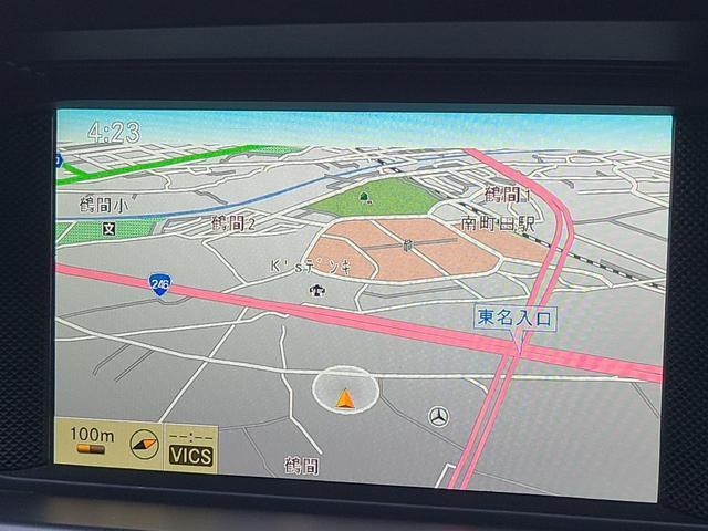 C200ブルーエフィシェンシー AdvancedLight 後期型 純正HDDナビ Bカメラ Bi-Xenonライト フルセグ地デジ ETC 正規ディーラー車 音声ガイダンス式パーキングアシスト セミパワーシート 17AW(18枚目)