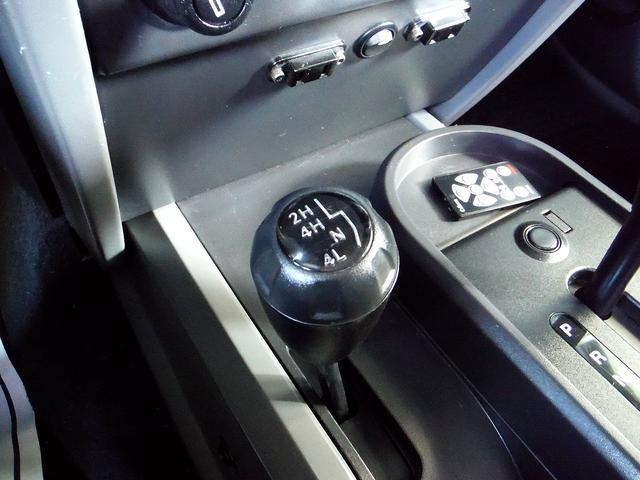 パートタイム4WDで、Hi/Loモードもございます。