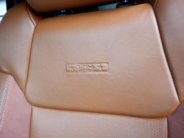 クルーマックス 1794エディション 4WD 新車並行車 リフトアップ ワンオフマフラー 専用ブラウンレザーシート シートヒーター・クーラー サンルーフ ブラインドスポットモニター LEERハードシェル付 6速AT クルーズコントロール(64枚目)