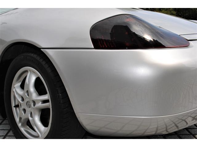 ボクスター 2.7 ティプトロニックS 禁煙車 右ハンドル 電動オープン 黒ハーフレザーシート 平成14 15 16 20 24 25 27 令和2年 整備入庫記録有り 社外マフラー 6連奏CDチェンジャー(45枚目)