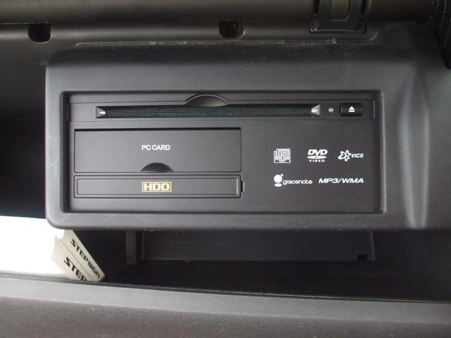 G LSパッケージ フローリングフロア 両側パワースライドドアー HDDナビ Bカメラ キセノンヘッドライト 純正アルミ ワンオーナーディラー整備 オートエアコン ウオークスルー DVD再生可(14枚目)