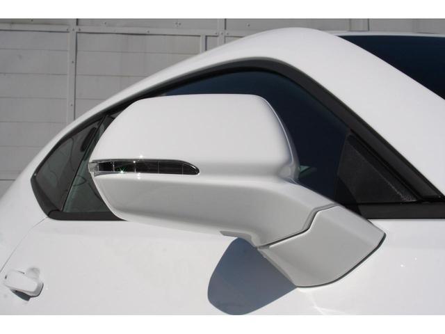 ウィンカー付ドアミラーです。サイドブライトゾーンのワーニングはミラー部分に表示されます。